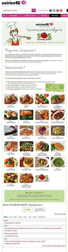 Cuisine AZ Screenshot