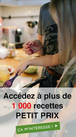 menus Petit prix
