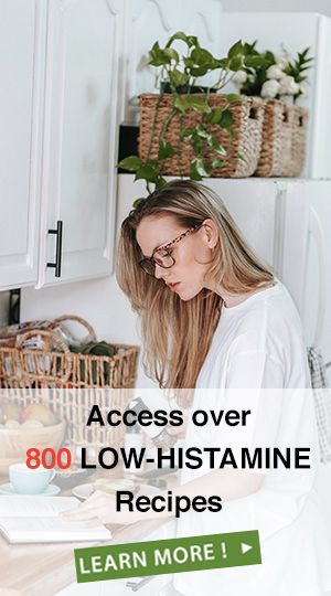 Low-Histamine Meal Plans