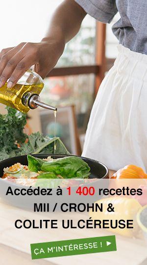 menus Maladie de Crohn & colite ulcéreuse