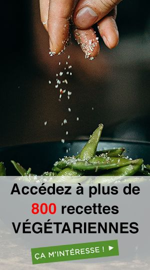 menus Végétarien