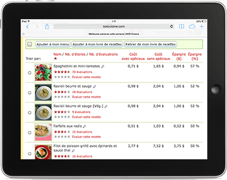 ipad recipes real bargains