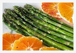 Roasted Asparagus with Oranges