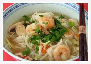 Oriental Shrimp Soup