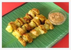 Pork and Pineapple Satay