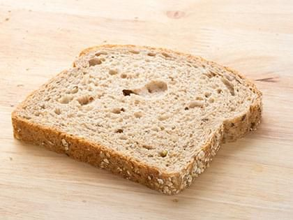 Bread, whole wheat (1 slice)