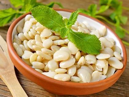 Sautéed Flageolets Beans