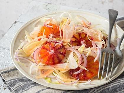 Salade de fenouil et oranges