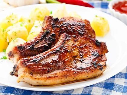 Côtelettes de porc