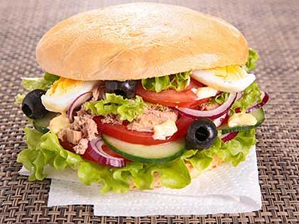 Pan Bagnat (Tuna Sandwich)
