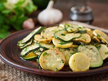 Sauté de zucchini