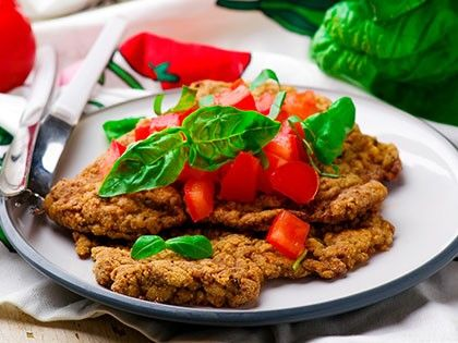 Summer Milanese Veal