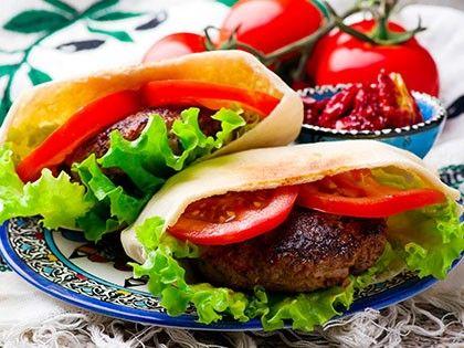 Mediterranean Lamb Burger