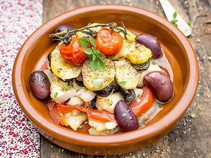 Provence-Style Cod Casserole