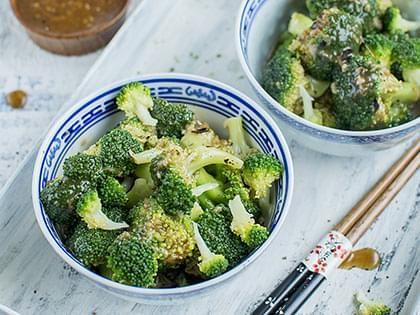 Sauté de brocoli à l'orientale