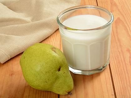 Milk and Pear