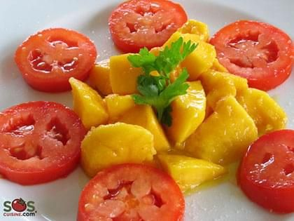 Mango and Tomato Salad