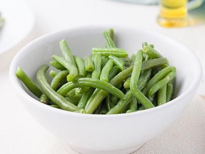 Haricots verts au beurre