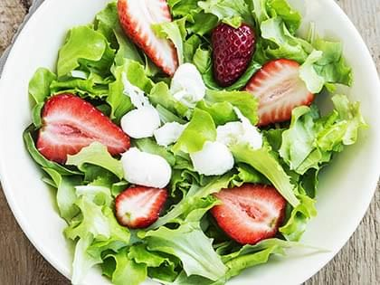 Mixed Greens and Strawberry Salad