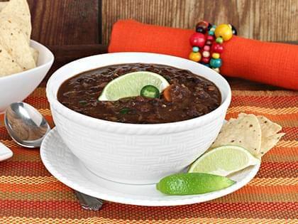 Black Bean Cuban Soup