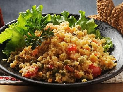 Couscous and Lentil Salad