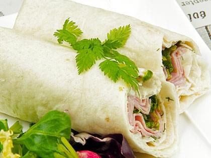 Wrap dinde fromage