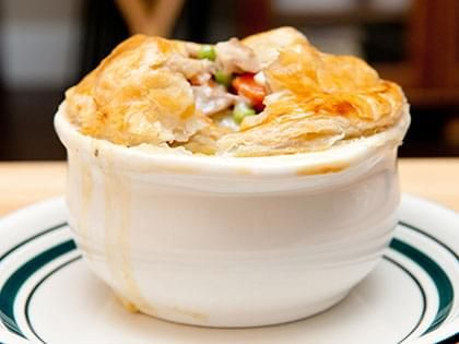 Chicken Savoury Pie