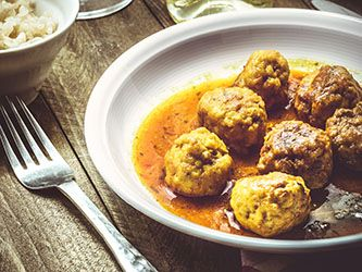 Polpette di carne al curry