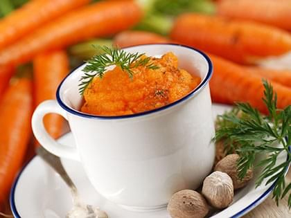 Orange Carrot Purée