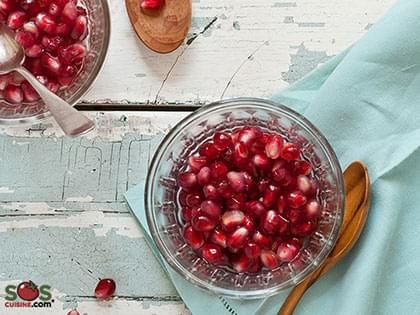 Pomegranate in Port-wine