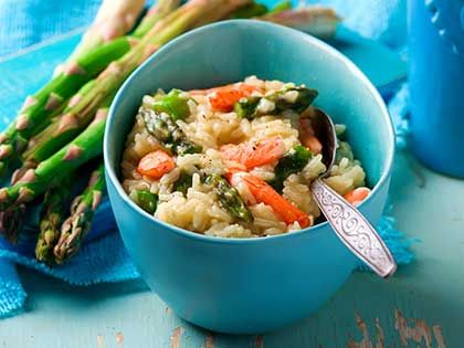 Asparagus and Shrimp Risotto