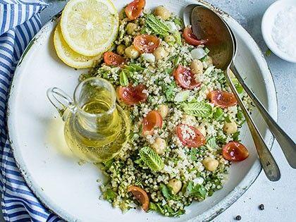 Salade de persil et pois chiches