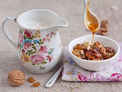 Quinoa parfumé à la cannelle