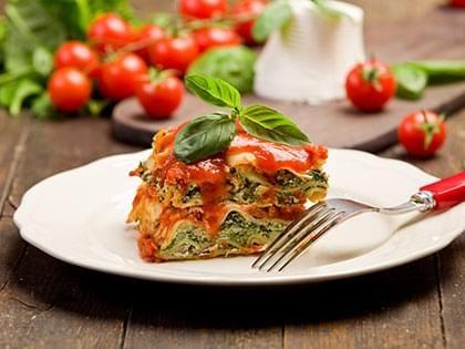 Vegetarian Slow Cooker Lasagna