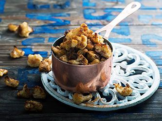 Popcorn de chou-fleur