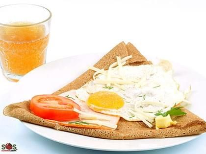 Buckwheat Pancake with Egg