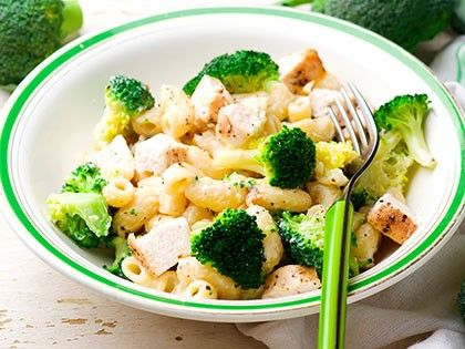 Pasta with Broccoli and Turkey