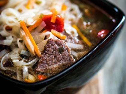 Asian Beef and Vegetable Soup