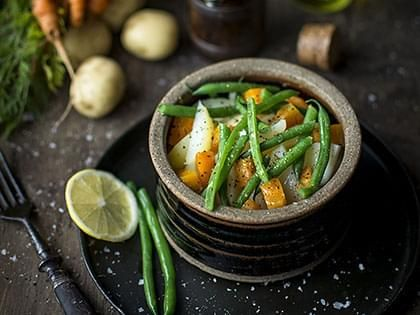 Salade de légumes bouillis