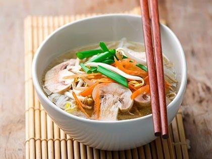 Zuppa di verdure all'orientale
