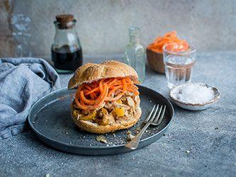 Thai Peanut Chicken Sandwich