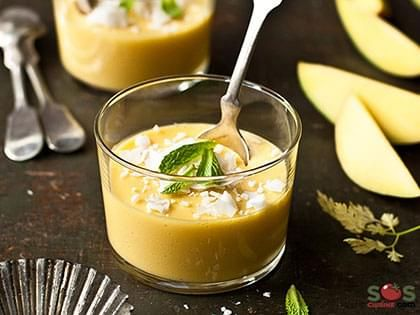Crème de mangue et lime
