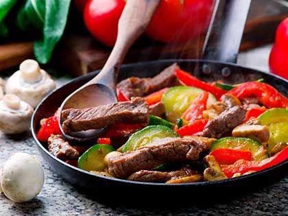 Beef and Vegetables Stir-Fry
