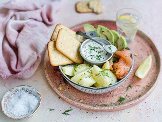 Salmon, Avocado and Potato Bowl