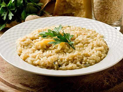 Cheesy Cauliflower Risotto