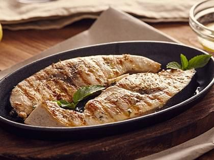 Swordfish with Potato-Arugula Salad