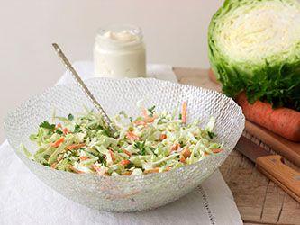 Salade hivernale crémeuse