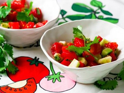 Tomato and Cucumber Salsa