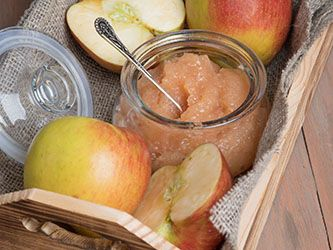 Orange-flavoured Applesauce with Ginger