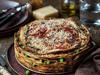 Lasagne de crêpes